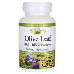 Natural FactorsOlive Leaf 20:1 - 15% Oleuropein