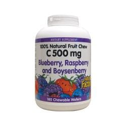 Natural FactorsVitamin C Blueberry, Raspberry & Boysenberry Chewables
