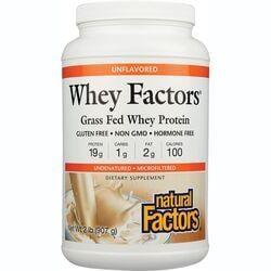 Natural FactorsWhey Factors Unflavored