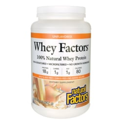 Natural FactorsWhey Factors Unflavored