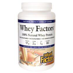 Natural FactorsWhey Factors Grass Fed Whey - Natural French Vanilla Flavor