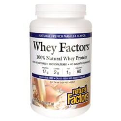 Natural FactorsWhey Factors Natural French Vanilla Flavor