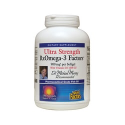 Natural FactorsRxOmega-3 Factors Ultra Strength with Vitamin D3