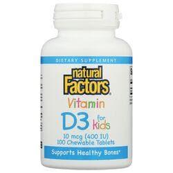 Natural FactorsVitamin D3