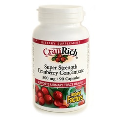 Natural Factors CranRich Super Strength Cranberry Concentrate