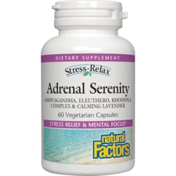Natural FactorsStress-Relax Serenity Formula with Sensoril