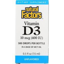 Natural FactorsVitamin D3 Drops