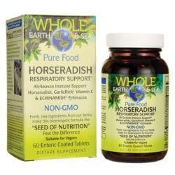 Natural FactorsWhole Earth & Sea Pure Food Horseradish Respiratory Support