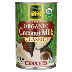 native forest organic coconut milk