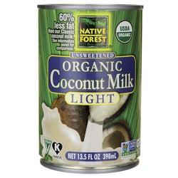 Native Forest Unsweetened Organic Coconut Milk - Light