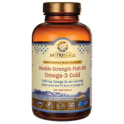 NutriGoldDouble Strength Fish Oil Omega-3 Gold