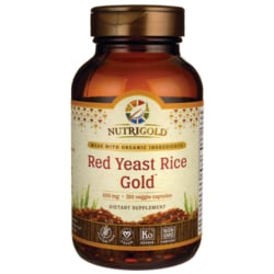 NutriGoldRed Yeast Rice + CoQ10 Gold w/ Citrus Bergamot Extract
