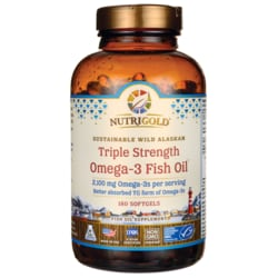 NutriGoldTriple Strength Fish Oil Omega-3 Gold