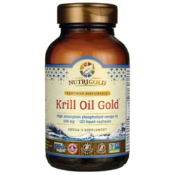 NutriGoldKrill Oil Gold