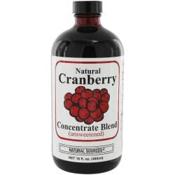 Natural SourcesNatural Cranberry Drink Concentrate