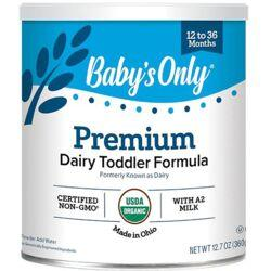 Nature's OneBaby's Only Organic Dairy Based Formula Iron Fortified