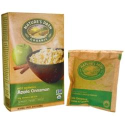 Nature's PathOrganic Instant Hot Oatmeal Apple Cinnamon