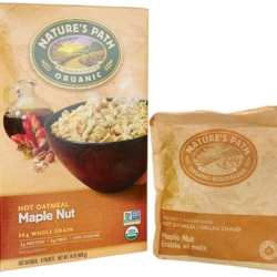 Nature's PathOrganic Instant Hot Oatmeal Maple Nut