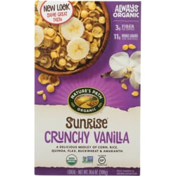 Nature's PathOrganic Sunrise Cereal - Crunchy Vanilla