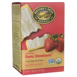 Nature's PathOrganic Toaster Pastries Frosted - Berry Strawberry
