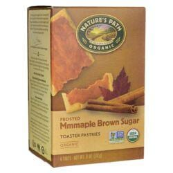 Nature's PathOrganic Toaster Pastries Frosted - Maple Brown Sugar