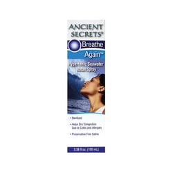 Ancient SecretsHypertonic Seawater Nasal Spray