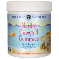 Nordic Naturals Nordic Omega-3 Gummies - Tangerine