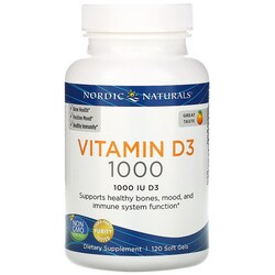 Nordic NaturalsNordic Vitamin D3 - Orange