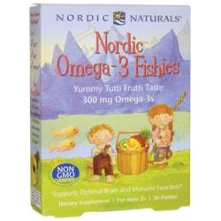 Nordic Naturals Nordic Omega-3 Fishies - Tutti Frutti Taste