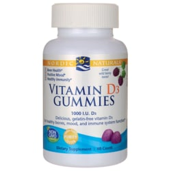 Nordic NaturalsVitamin D3 Gummies - Wild Berry