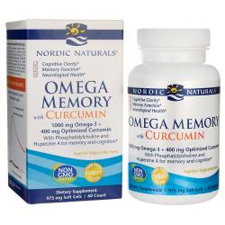 Nordic NaturalsOmega Memory with Curcumin