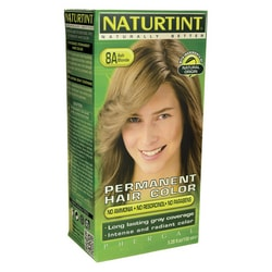 NaturtintPermanent Hair Color - 8A Ash Blonde