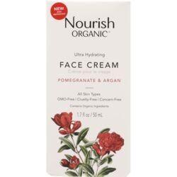 Nourish OrganicsFace Cream - Argan + Pomegranate