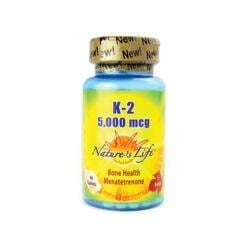 Nature's LifeVitamin K-2 Menatetrenone