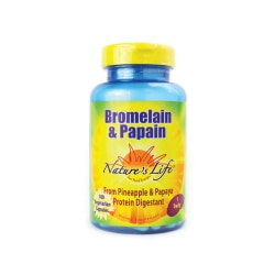 Nature's Life Bromelain & Papain