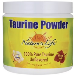 Nature's Life Taurine Powder - Unflavored