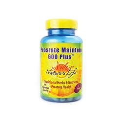 Nature's LifeProstate Maintain 600 Plus