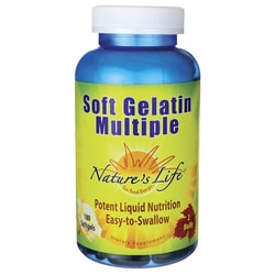 Nature's LifeSoft Gelatin Multiple