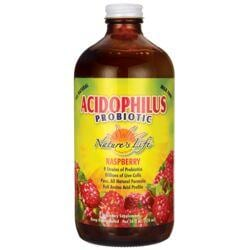 Nature's LifeAcidophilus Probiotic - Raspberry
