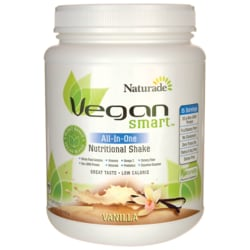 NaturadeVegan Smart All-In-One Nutritional Shake - Vanilla