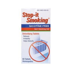 NatraBio Stop-It Smoking Detoxifying