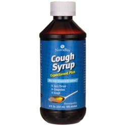 NatraBio Cough Syrup Expectorant Plus
