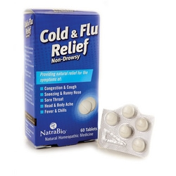 NatraBioCold and Flu Relief