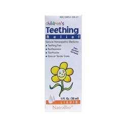 NatraBio Children's Teething Relief