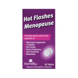 NatraBio Hot Flashes Menopause