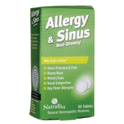 NatraBioAllergy & Sinus - Non-Drowsy