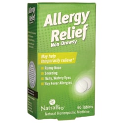 NatraBioAllergy Relief - Non-Drowsy