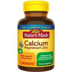 Nature MadeCalcium Magnesium Zinc with Vitamin D
