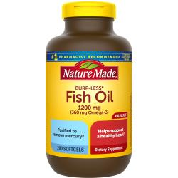 Nature MadeFish Oil Burp-Less