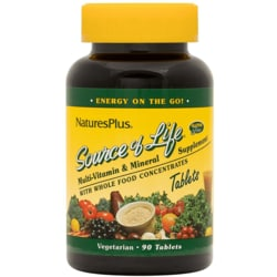 Nature's Plus Source Of Life Multi-Vitamin & Mineral
